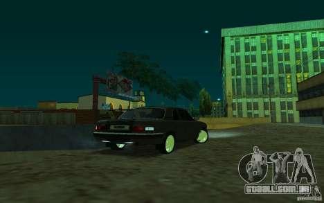 GAZ 31105 coupe para GTA San Andreas esquerda vista