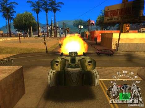 Star Wars Tank v1 para GTA San Andreas vista traseira