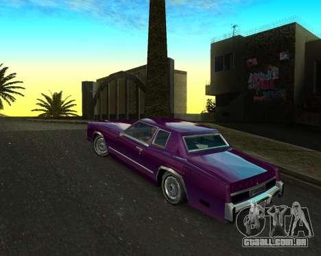 Cadillac Eldorado para GTA San Andreas esquerda vista