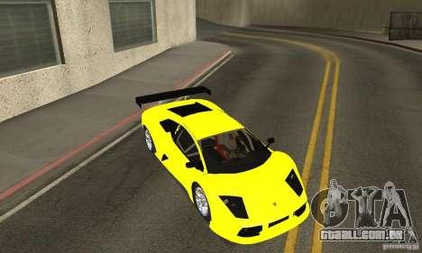 Lamborghini Murcielago R GT para GTA San Andreas vista superior