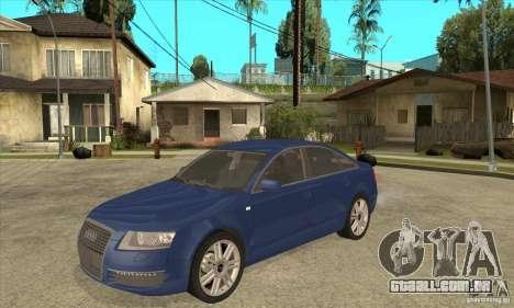 Audi S6 Limousine V1.1 para GTA San Andreas