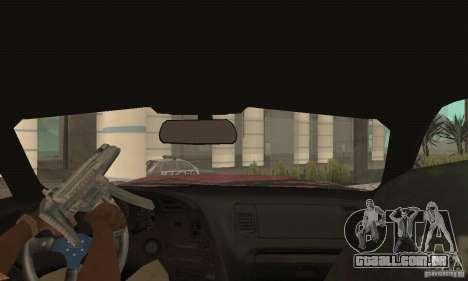 Toyota Supra Tunable 2 para GTA San Andreas vista interior
