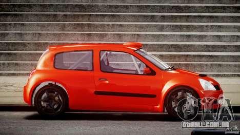 Renault Clio Sport para GTA 4 vista interior