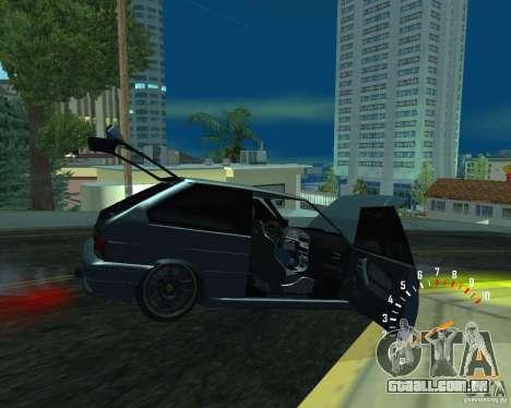 VAZ 2113 Ferarri para GTA San Andreas esquerda vista
