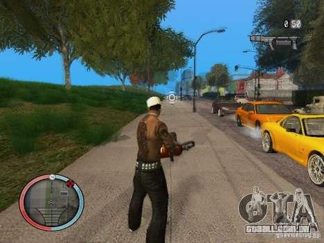 GTA IV HUD Final para GTA San Andreas por diante tela
