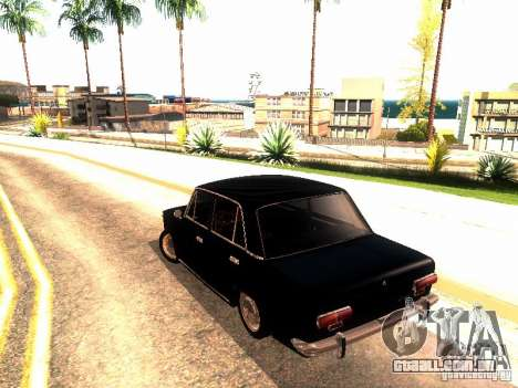 Dreno de 2101 VAZ para GTA San Andreas traseira esquerda vista