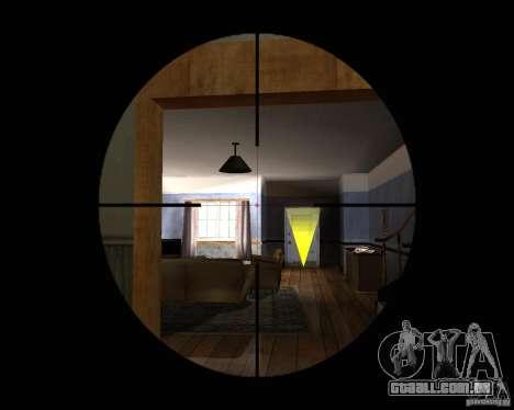 Rifle AS 50 para GTA San Andreas terceira tela