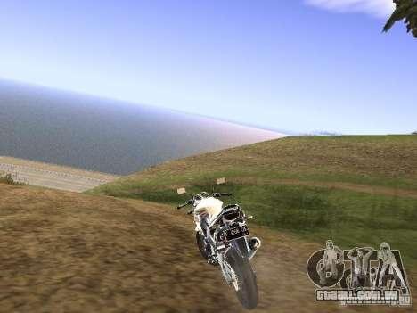 Yamaha V-Ixion para GTA San Andreas esquerda vista