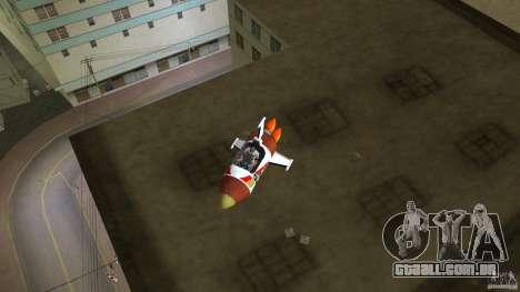 V&V Sparrow para GTA Vice City vista traseira esquerda