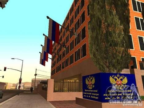 Corpo de cadetes de Krasnoyarsk para GTA San Andreas terceira tela
