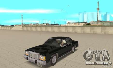 Ford LTD Crown Victoria 1985 MIB para GTA San Andreas
