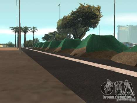 Drift track and stund map para GTA San Andreas terceira tela