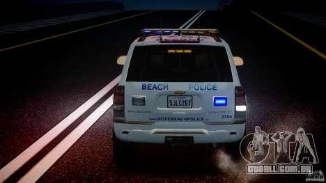 Chevrolet Trailblazer Police V1.5PD [ELS] para GTA 4 motor