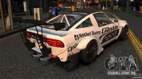 Nissan 380SX BenSopra RIV para GTA 4 traseira esquerda vista