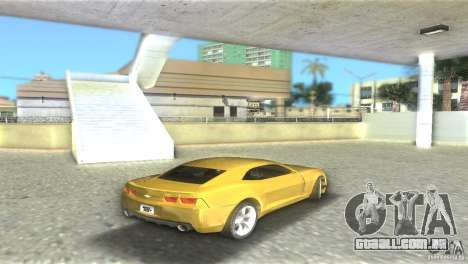 Chevrolet Camaro para GTA Vice City vista direita