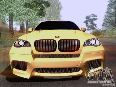 BMW X6M Hamann para GTA San Andreas