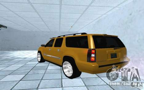 Chevrolet Suburban 2010 para GTA San Andreas esquerda vista