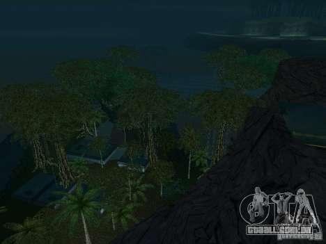 O mistério das ilhas tropicais para GTA San Andreas décima primeira imagem de tela