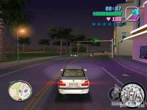 Velocímetro para GTA Vice City segunda tela