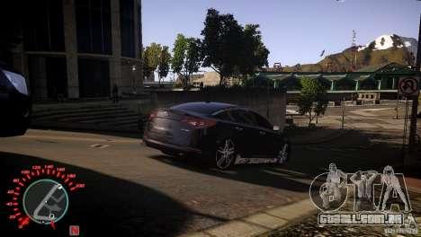 Kia Optima Dub para GTA 4 traseira esquerda vista
