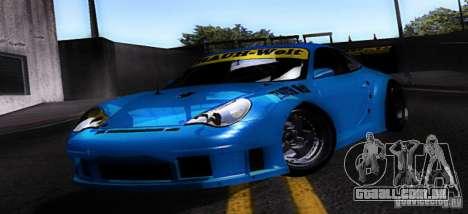 Porsche 911 GT3  RWB para GTA San Andreas esquerda vista