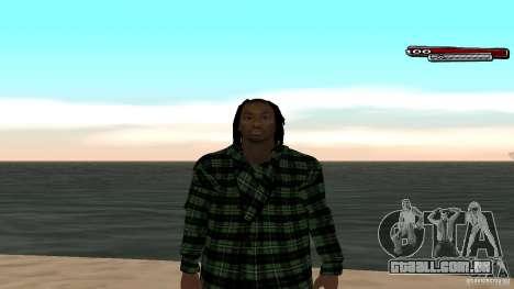 New skin Grove HD para GTA San Andreas