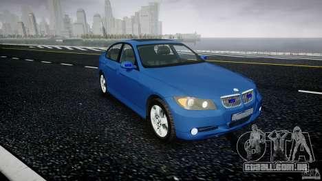BMW 3-Series Unmarked [ELS] para GTA 4 vista direita