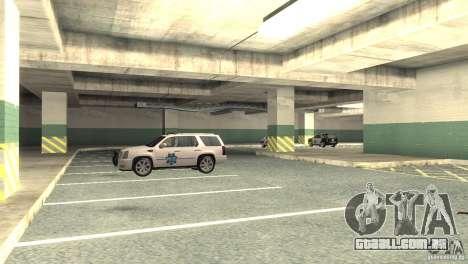 San Fierro Police Station 1.0 para GTA San Andreas por diante tela