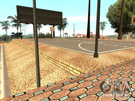 A nova quadra de basquete em Los Santos para GTA San Andreas sétima tela