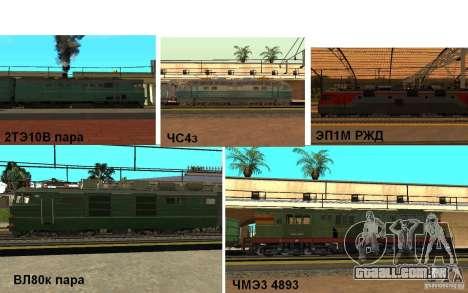 FERROVIÁRIA mod II para GTA San Andreas
