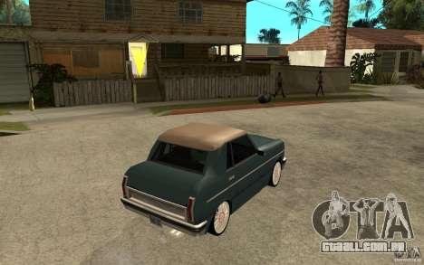 Perenial Coupe para GTA San Andreas vista direita