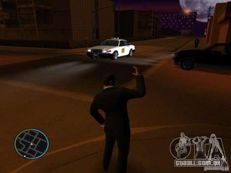 Mod de táxi para GTA San Andreas segunda tela
