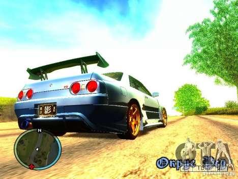 Nissan Skyline B324R para GTA San Andreas traseira esquerda vista