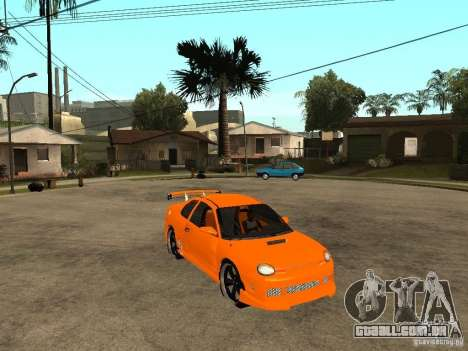 Dodge Neon para GTA San Andreas vista direita