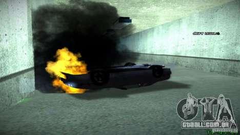 Novos efeitos 1.0 para GTA San Andreas segunda tela