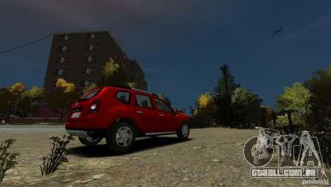Dacia Duster SUV 4x4 2010 para GTA 4 vista direita