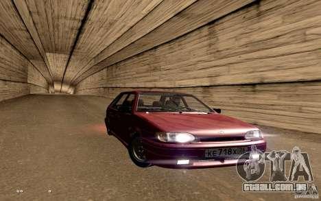 ВАЗ 2114 qualidade para GTA San Andreas vista inferior
