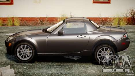 Mazda MX-5 para GTA 4 vista interior