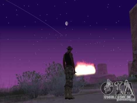 Espada de fogo para c Jay para GTA San Andreas segunda tela