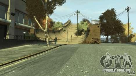 New Map Mod para GTA 4 por diante tela