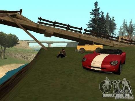 Um amor para recordar para GTA San Andreas segunda tela