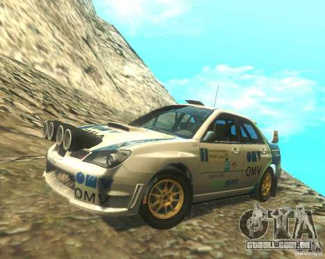 Subaru Impreza WRX STI DIRT 2 para GTA San Andreas vista superior