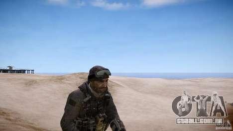Capitão preço do COD MW3 para GTA 4 segundo screenshot