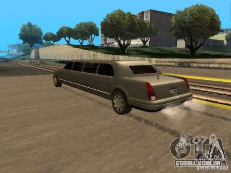 HD Stretch para GTA San Andreas esquerda vista