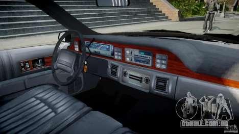Chevrolet Caprice FBI v.1.0 [ELS] para GTA 4 vista direita