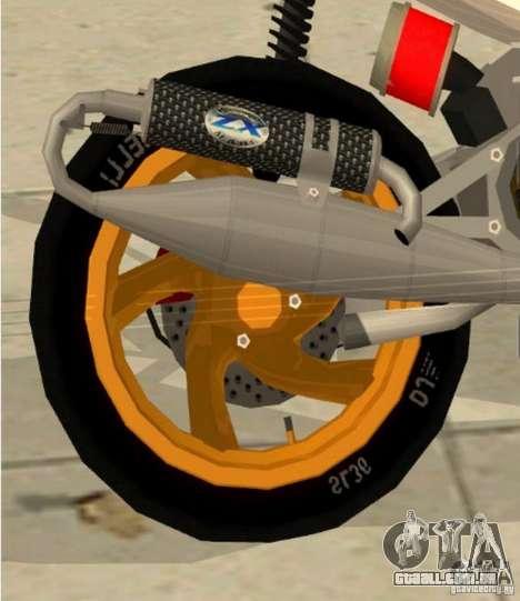 Gilera Runner 50SP Skin 3 para GTA San Andreas vista direita