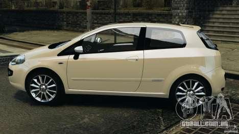 Fiat Punto Evo Sport 2012 v1.0 [RIV] para GTA 4 esquerda vista