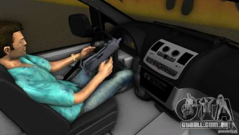 Mercedes-Benz Vito 2007 para GTA Vice City vista interior
