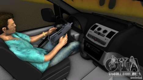 Mercedes-Benz Vito 2007 para GTA Vice City vista interior