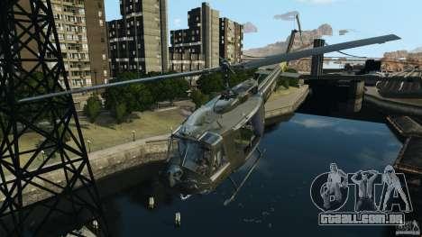 Bell UH-1 Iroquois para GTA 4 interior